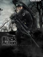 VERYHOT NO:1017 Black Action