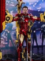 30/01/2018 Hot Toys MMS462D22 IRON MAN 2 - MARK IV WITH SUIT-UP GANTRY