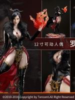 "VERYCOOL DZS-003 1/6 ""Dou Zhan Shen"" Series of Tencent Game - RAKSA & VCF-2028 Stand"
