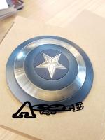 Carve Art Captain America Shield CA001B (Stealth Blue Version)