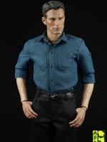 AFS TOYS A005 Men's casual shirt trousers suit ชุดกัปตันงานเลี้ยง