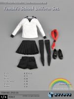 ZY TOYS ZY15-31 student Uniform - summer white gown