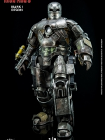 King Arts 1/9 Diecast Figure Series DFS023 Diecast Action Iron Man Mark 1