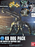 BANDAI HGBC 009 - K9 DOG PACK