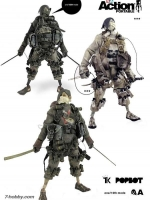 ThreeA Action Portable - Tk Slicer 3-pack (kyuuketsuki/baka/interbaka)