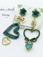 Sunshine Jewelry ต่างหู(เงิน) เครื่องประดับผู้หญิง ดีไซน์เกาหลี ใส่ออกงานก็ดูแพงเรียบหรู คลาสสิค ใส่ทำงานก็ดูเก๋ สวย น่ารัก ชุบด้วยทองคำขาว เกรดพรีเมียม