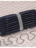 bs0001 กระเป๋าคลัช สีน้ำเงินเข้ม สีกรม กระเป๋าออกงานพร้อมส่ง ราคาถูกกว่าเช่า แบบสวยๆ ดูดีเหมือนดาราใช้