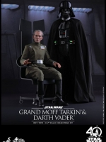 04/02/2018 Hot Toys MMS434 STAR WARS: EPISODE IV A NEW HOPE - GRAND MOFF TARKIN & DARTH VADER