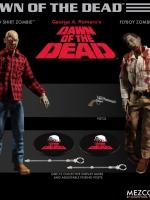 26/06/2018 Mezco Toyz 1/12 Dawn of the Dead - Plaid Shirt Zombie & Flyboy Zombie