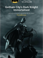 Batman Figurine 1/8 Pewter Collectible by Royal Selangor