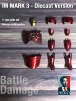 Hero IM Mark 3 - Diecast Version Battle Damage