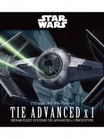 BANDAI STAR WAR 1/72 TIE ADVANCED x1