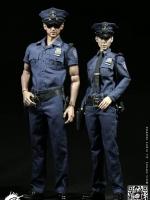 POPTOYS 1/6 F24 New York Police - Policeman & Policewoman