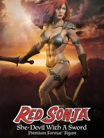 SIDESHOW Red Sonja She-Devil with a Sword Premium Format