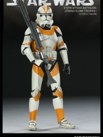 SIDESHOW STAR WARS - Militaries Or Star Wars: REPUBLIC CLONE TROOPER 212th attack battalion: utapau