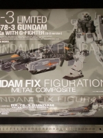 BANDAI FIX METAL COMPOSITE - RX-78-3 Gundam G3 ver.Ka with G-Fighter