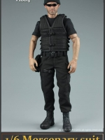 VORTOYS - V1004 mercenaries 1/6 Black Stealth Suit
