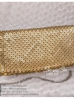 bs0017 กระเป๋าคลัช สีทอง กระเป๋าออกงานพร้อมส่ง บริกาให้เช่ากระเป๋าออกงาน เครื่องประดับออกงาน แบบสวยๆ ดูดีเหมือนดาราใช้