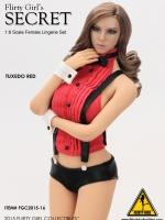 Flirty Girl's Secret FGC2015-16 TUXEDO RED