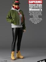 18/07/2018 SUPERMCToys F-076 Street Style Flight Jacket Sets Women's