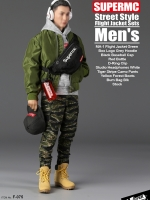 18/07/2018 SUPERMCToys F-075 Street Style Flight Jacket Sets Men's
