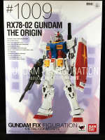 BANDAI FIX METAL COMPOSITE - #1009 RX78-02 THE ORIGIN