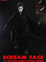 SUPERMAD TOYS 1/6 Scream Face (custom made action figure)