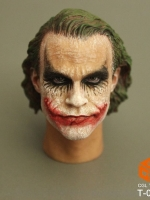CGL T-09E Head Sculpt For Dark Knight Rise Joker New โจ๊กเกอร์