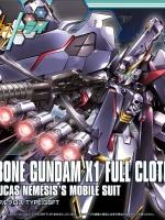 BANDAI HGBF 035 - CROSSBONE GUNDAM X1 FULL CLOTH TYPE.GBFT