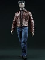 POPTOYS F14 Wolverine Retro Leather suit
