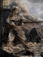 27/03/2018 Alert Line AL100020 WWII The Soviets Female Soldier Sniper Set