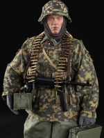 DID D80125 3rd SS-Panzer-Division MG34 Gunner Version B - Bladric