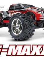 E-Maxx: 1/10-Scale Electric-Powered 4WD Monster Truck with TQi 2.4 GHz radio system # 3903