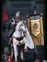 303TOYS Three Kingdoms Series NO.318 Zhou Yu + NO.118 Ferghana Horse + NO.218 Banner Suite (Full Set)