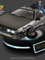 kidslogic 1/20 Magnetic Floating DeLorean Time Machine, Back To The Future Part II
