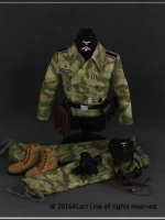 Alert Line AL10008 A - E 1/6 WWII the wehrmacht and the SS Tank crew overalls set