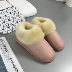 [มี2สี] รองเท้าขนสัตว์ แบบผูกเชือก พื้นหนาเล็กน้อย หนังpu กำมะยี่หนานุ่ม ใส่อุ่นๆแฟชั่นหน้าหนาว