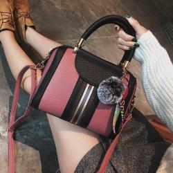[มีหลายสี] กระเป๋าถือ+สะพายผู้หญิง แฟชั่นหนัง pu สวยดูแพง