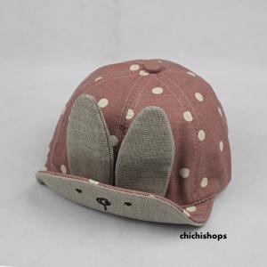 หมวกเด็กลายกระต่าย