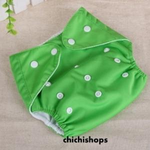 ผ้าอ้อม Set A สีเขียว