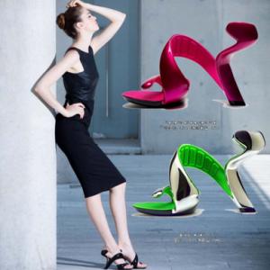 [มีหลายสี] รองเท้า Mojito รองเท้าส้นสูงใส่ออกงานดีไซน์เก๋ๆ ออกแบบโดยดีไซน์เนอร์ชื่อดัง Julian Hakes