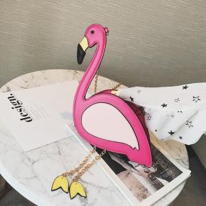 กระเป๋าสะพายข้าง แฟชั่นหนัง pu รูปเป็ด สีชมพู สวย น่ารัก แฟชั่นสไตล์สาวเปรี้ยว