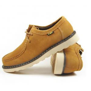 [มีหลายสี] รองเท้าหนัง CAT-CATERPILLAR รองเท้าเดินป่า แบบหุ้มส้น หนังแท้ พื้นยางนุ่มๆ ค่ะ