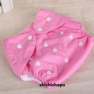 ผ้าอ้อม Set A สีชมพู