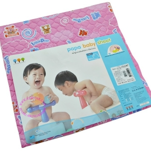 ผ้ายางรองกันปัสสาวะเด็ก ใหญ่ ยี่ห้อ PAPA