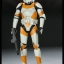 SIDESHOW STAR WARS - Militaries Or Star Wars: REPUBLIC CLONE TROOPER 212th attack battalion: utapau thumbnail 2