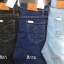 Skinny Jeans สกินนี่ ผ้ายีนส์ยืด ขาเดฟ เอวสูง มี 3 สี สีกรม สีดำ สีซีด กระเป๋าเดินด้าย thumbnail 2