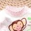 ชุดนอนเด็กน่ารัก set 7 ลายลิงสีชมพู thumbnail 2