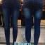 กางเกงยีนส์ สกินนี่ ขาเดฟ ผ้ายีนส์ยืด ผู้หญิง มี 4 สี ฟอกด่าง thumbnail 1