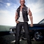 ACPLAY ATX-034 1/6 Fast and furious: Dominic Toretto denim vest suit thumbnail 3
